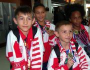 4 Médaillés en KUNG-FU WUSHU
