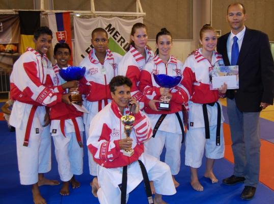 Les médaillés de l'OPEN D'ORLEANS 2014