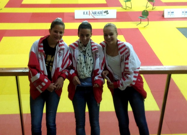 L'équipe cadette juniors