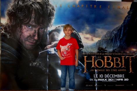 Notre petit hobbit du kung fu wushu